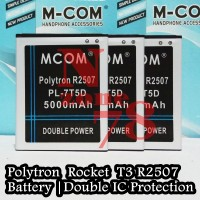 Baterai Polytron Rocket T3 R2507 PL-7T5D Double IC Protection