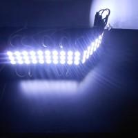 LED modul 5730 3 mata 12V 1,2W Cold White