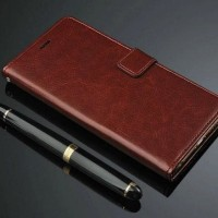 Samsung Galaxy C7 Pro Retro Wallet Leather Case Casing