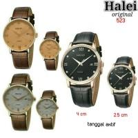 Jam tangan couple Halei 523 Original