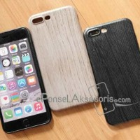 iPhone 7/7 PLUS Wood Silicon Case cover silicon
