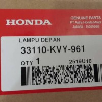 harga Reflektor / Headlamp / Lampu Depan Honda Beat Karbu Asli Tokopedia.com