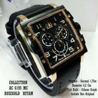 Jam Tangan Pria Original Alexandre Christie AC Collection 6195 MC