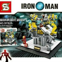 Lego Lab of Iron Man