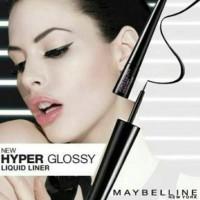 Maybelline Hyper Glossy Liquid Liner (Eyeliner)-Black