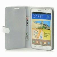 Capdase Folder Case Sider Polka Samsung Galaxy Note 2 - White