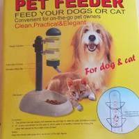 harga Pet Feeder Snack And Water - Tempat Minum + Makan Kucing Anjing Tokopedia.com