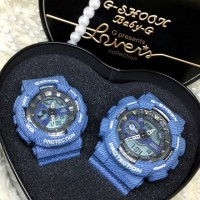 RESTOCK! EXCLUSIVE: Casio G-Shock & Baby-G Denim Lovers Collection