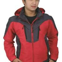 Jual Jaket Windbreaker Outdoor Red sporty Murah