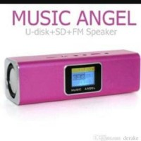 harga Speaker Aktif + Radio Music Angel Lcd Display Tokopedia.com