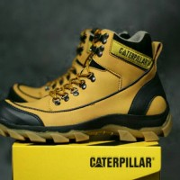 sepatu Boots Pria Caterpillar Safety