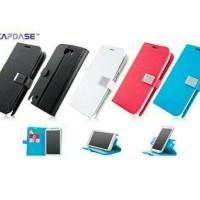 Capdase Folder Case Sider Polka Samsung Galaxy Note 2 - Red