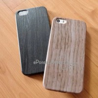 iPhone 5 /5S/SE Wood Silicon Soft case