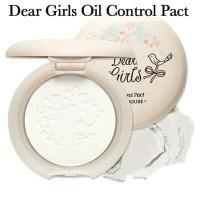 [ETUDE HOUSE] Dear Girls Oil Control Pact (bedak utk kulit berminyak)