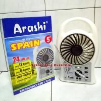 Jual Emergency Fan / Kipas angin Darurat Arashi Spain 5