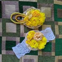 Harga Bros Bunga Aksesoris Hijab Jilbab Couple Ibu dan Anak | WIKIPRICE INDONESIA