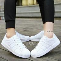 Jual Sepatu adidas putih wanita kets / casual / sport / sneakers murah Murah