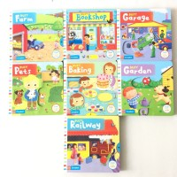 Campbell busy books series/pull-push and slide 15 judul