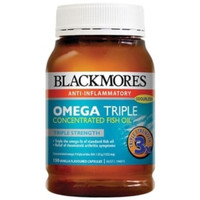 Jual Blackmores Omega 3 Triple Concentrated odourless Fish Oil Murah