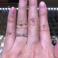 cincin berlian eropa listring emas putih rangka hongkong terbaik