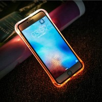 Case Untuk Oppo A37 A39 A57 A59 F1s Flash Light Up Led TPU soft case
