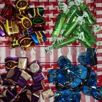 CUCI GUDANG coklat arab campur 1kg, coklat ali, twistar, alysa, altaly