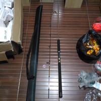 joran jigging 165 cm PE3-4 ring & reel seat fuji bonus tas pancing har