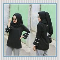 Tunik/baju Wanita/sabrina/baju Atasan/dilla Top Black
