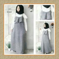 Tunik/baju Wanita/sabrina/baju Atasan/grey Overall