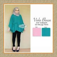 Tunik/baju Wanita/sabrina/baju Atasan/viola Blouse