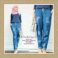 Tunik/baju Wanita/sabrina/baju Atasan/ripped Jeans