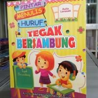 Buku Anak PAUD dan TK, Pintar Menulis Huruf Tegak Bersambung