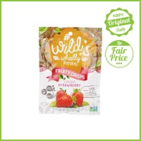 Wild's Wholly Natural - Luscious Strawberry - Snack Buah - 15 Gr