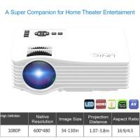 Jual Projector Unic UC36 + WIFI Anycast HD 1000 Lumens,proyektor Murah Murah