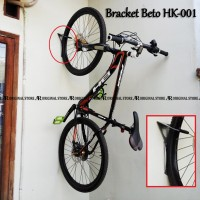 Wall Bracket Beto Hanger Bike Hook Hk-001Gantungan Sepeda MTB Dinding