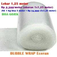 Jual Bubble wrap eceran Plastik gelembung Bubblewrap roll meteran Murah