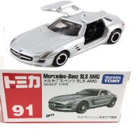 Tomica Series no 91 Mercedes Benz SLS AMG