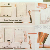 Engsel Ranjang Lipat Atas 339-1 / Heavy Duty Vertical Wall Bed