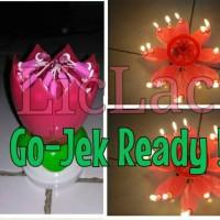 Jual Magic candle birthday/lilin/ulang/tahun/ajaib/lotus/bunga/musik Murah