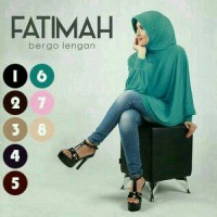 Jual Bergo Lengan Fatimah Hijab Jilbab Kerudung Instan Fashion Wanita Murah