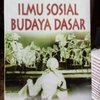 ILMU SOSIAL BUDAYA DASAR - ELLY SETIADI