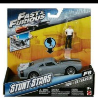 Jual Hotwheels Fast Furious Stunt Stars DOM + Ice Charger Murah