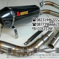 Knalpot Akrapovic Layang Carbon Ninja 250 Full System
