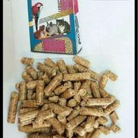 wood pellet pelet kayu alas kandang pets pet dream 1kg kucing kelinci