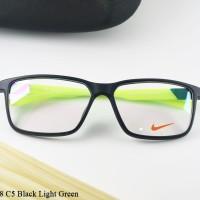 Bingkai Kacamata Sport Nike 7078 C5 Black Light Green