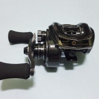 reel bait casting abu garcia revo ltx-bf8 handle kanan Terbaik