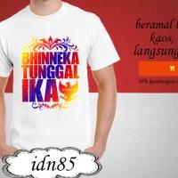 kaos explore indonesia distro dirgahayu t shirt BHINEKA TUNGGAL IKA 85