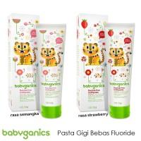 Babyganics Toothpaste 133gr Strawberry / Watermelon