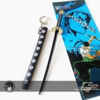 Gantungan Kunci Pedang Shusui Zoro / Keychain Anime One Piece