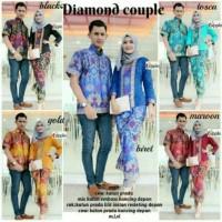Jual Batik Couple / Kebaya / Batik Sarimbit Diamond Barong warna Murah